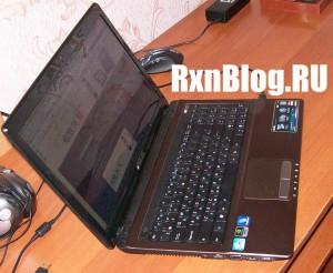 Ноутбук Asus K53SD в работе
