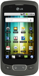 Бюджетный смартфон на Android LG P500 Optimus One