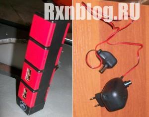 USB хаб и блок от антенны