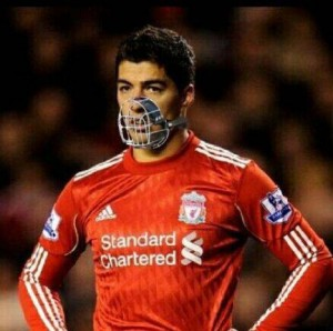 Суарес - нападающий Ливерпуля