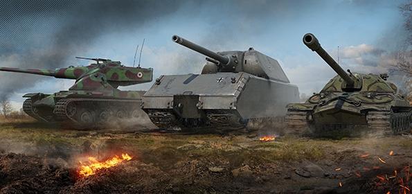 Ветки танков в WOT